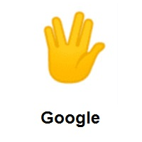 Vulcan Salute on Google Android