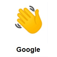 Waving Hand on Google Android