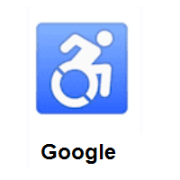 Wheelchair Symbol on Google Android
