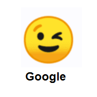 Winking Face on Google Android