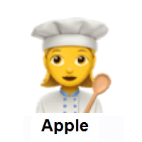 Woman Cook on Apple iOS
