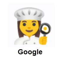 Woman Cook on Google Android