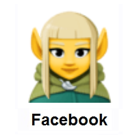 Woman Elf on Facebook