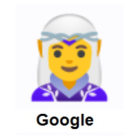 Woman Elf on Google Android