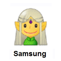 Woman Elf on Samsung