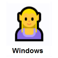 Woman Elf on Microsoft Windows