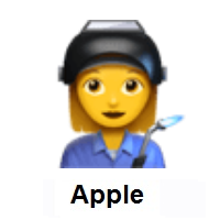 Woman Factory Worker on Apple iOS