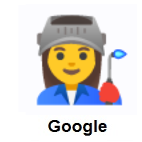 Woman Factory Worker on Google Android