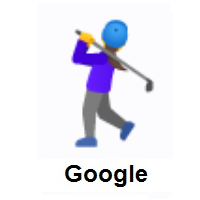 Woman Golfing on Google Android