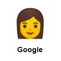 Woman on Google Android