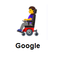 Woman In Motorized Wheelchair on Google Android