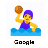 Woman Playing Water Polo on Google Android