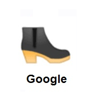 Woman's Boot on Google Android
