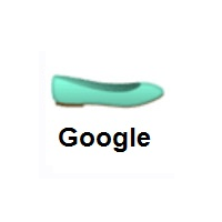 Woman's Flat Shoe on Google Android