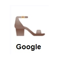Woman's Sandal on Google Android