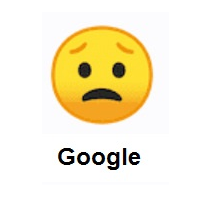 Miserable: Worried Face on Google Android