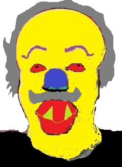 Old Horror Clown