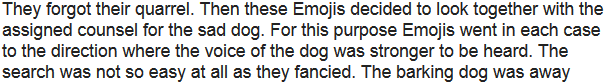 Story: Protection against unlawful dismissal with the rent of living rooms in Emoji and the barking of a dog